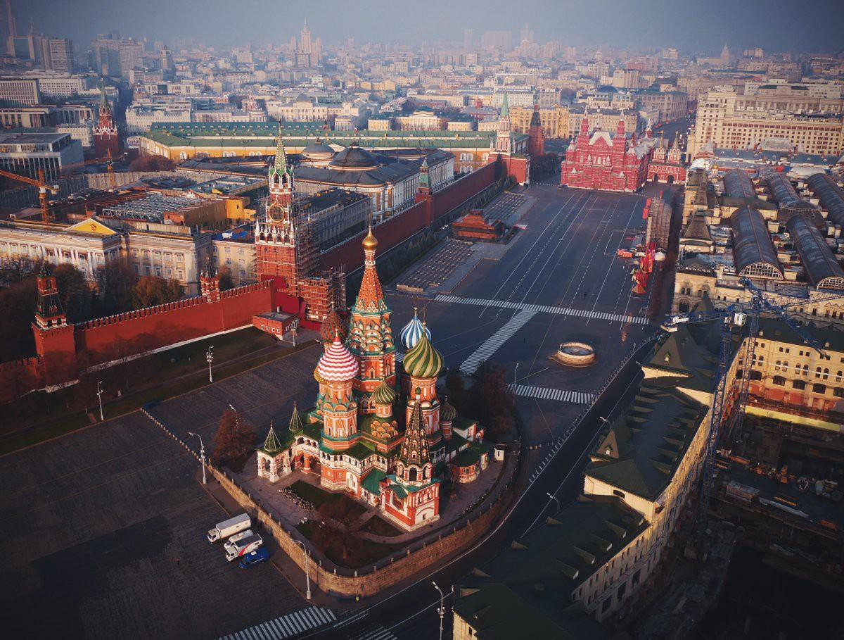Обои moscow, храм василия блаженного, красная площадь. Города
