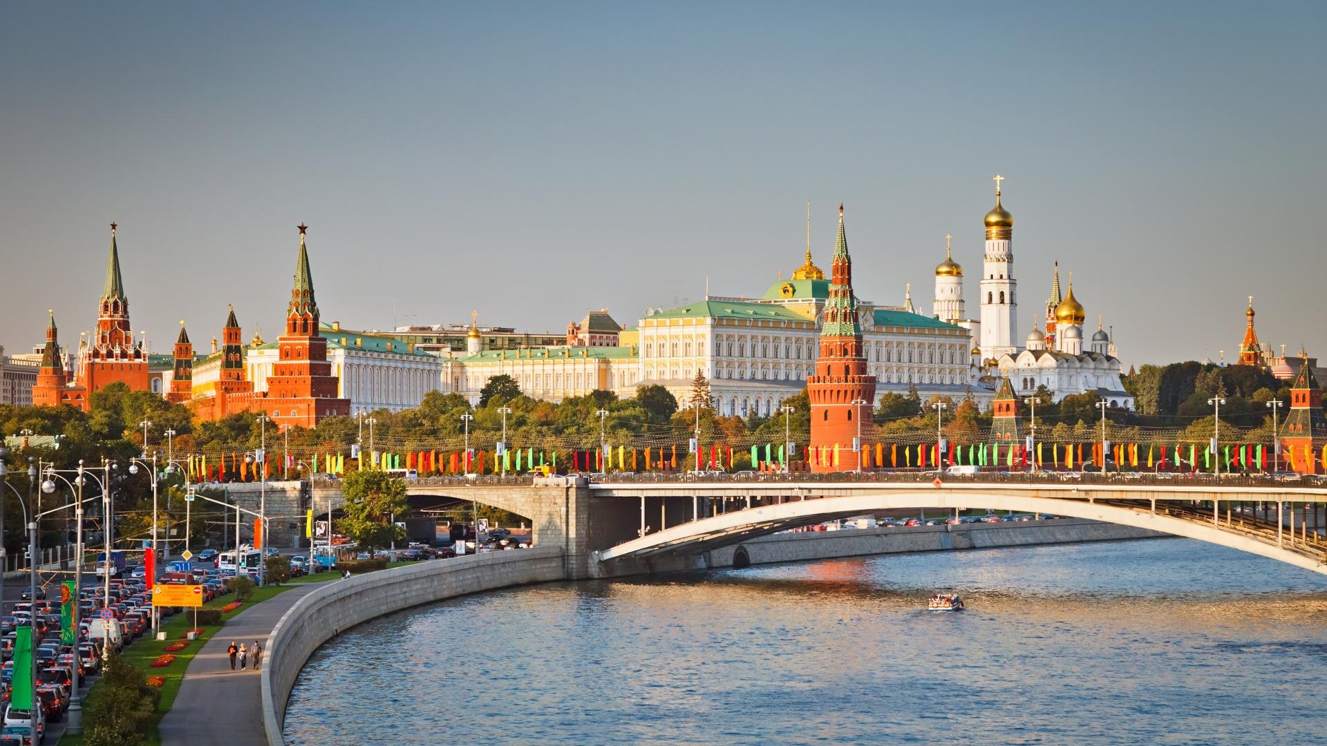 Обои russia, ночь, kremlin, россия, кремль, moscow. Города